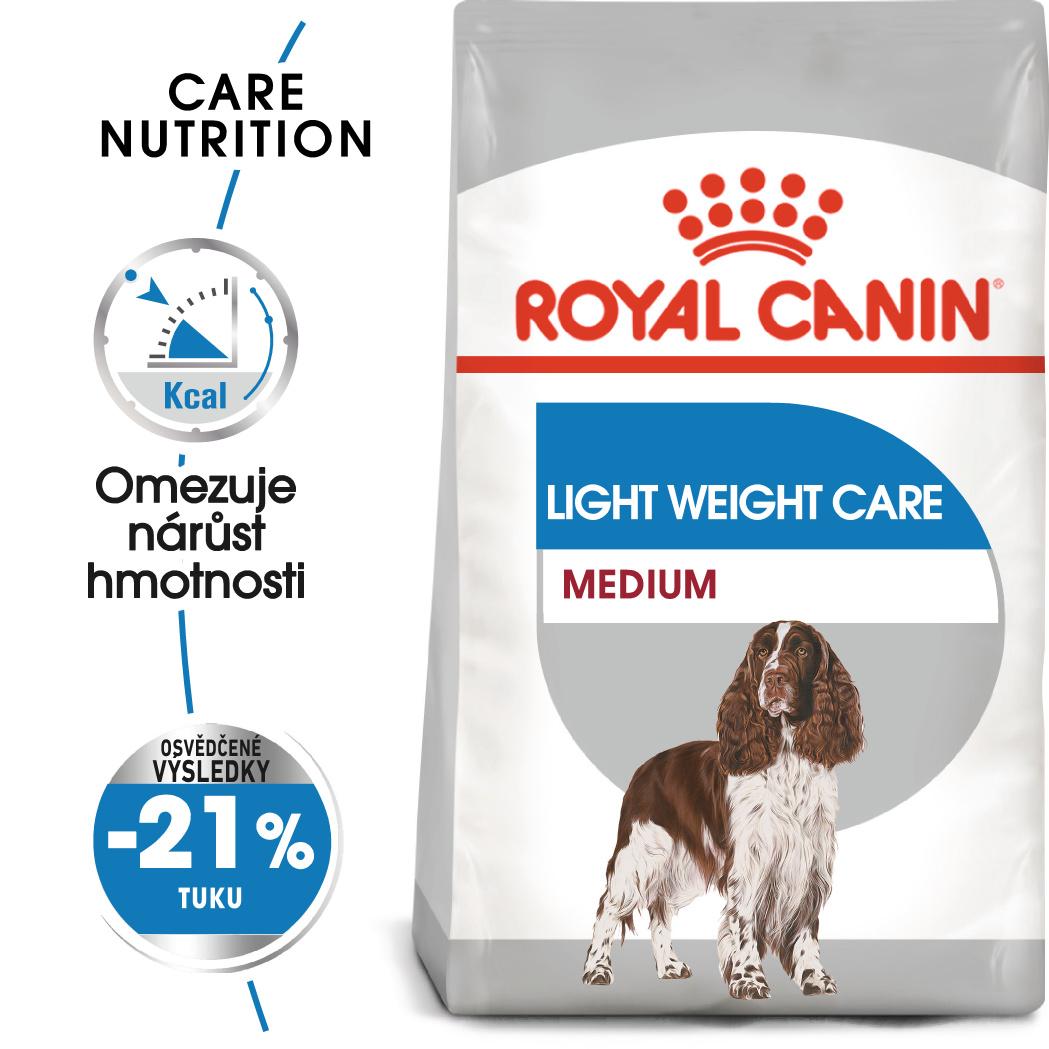 Royal Canin Medium Light Weight Care - dietní granule pro střední psy 10kg
