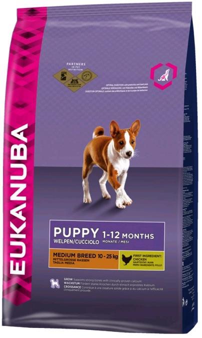 Eukanuba PUPPY/JUNIOR medium 15kg