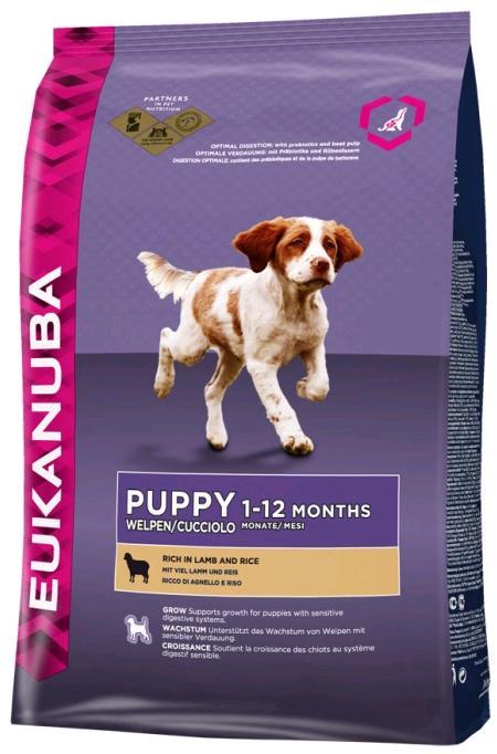 Eukanuba PUPPY/JUNIOR lamb 12kg