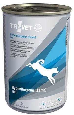 Trovet  dog (dieta) Hypoallergenic (Lamb) LRD  konzerva 400g PRODEJNA
