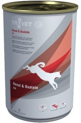 Trovet  dog (dieta)  Renal a Oxalate RID  konzerva 400g