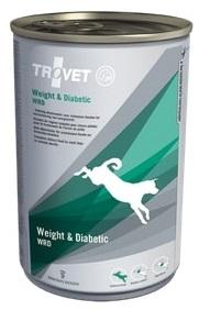 Trovet  dog (dieta)  Weight a Diabetic WRD  konzerva 400g