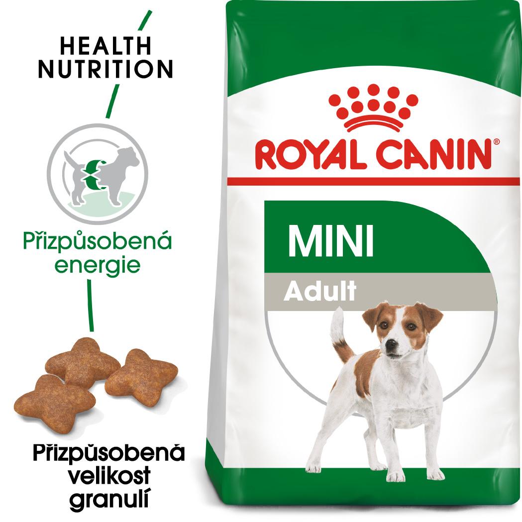Royal Canin Mini Adult - granule pro dospělé malé psy 8+1kg prodejna