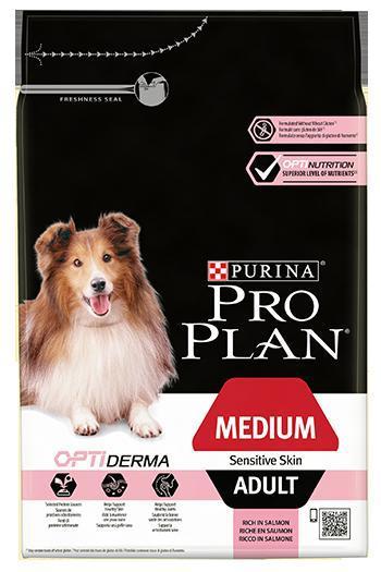 Purina PRO PLAN Dog Medium Adult Sensitive Skin 14kg