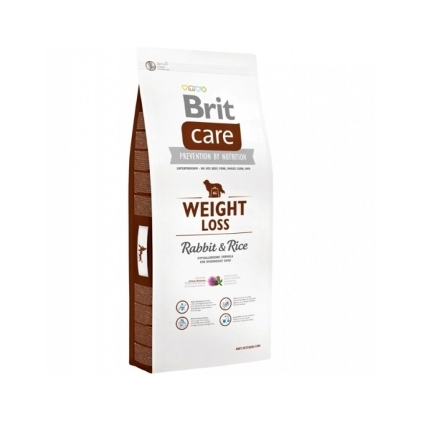 Brit Care dog Weight Loss Rabbit & Rice - 12kg