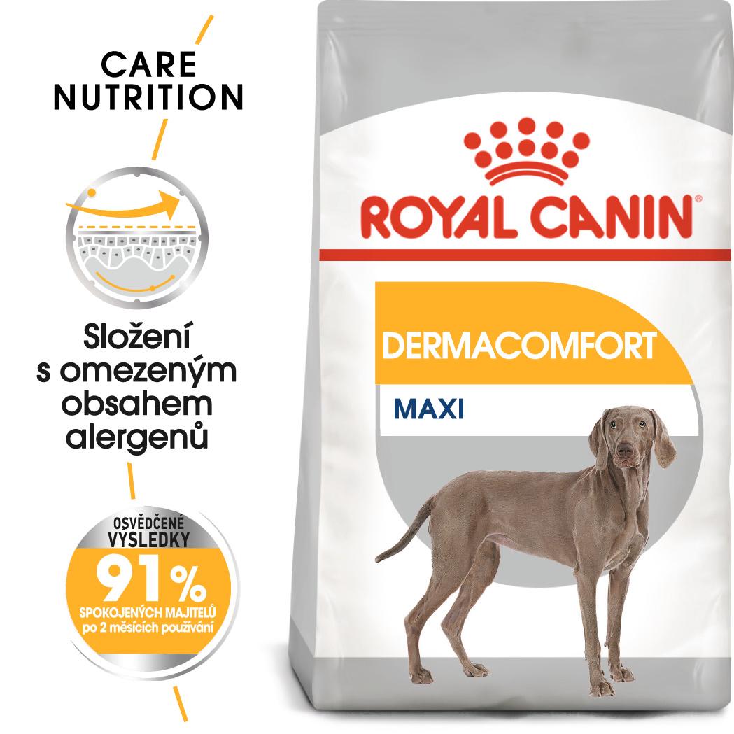 Royal Canin Maxi Dermacomfort - granule pro velké psy s problémy s kůží 10kg
