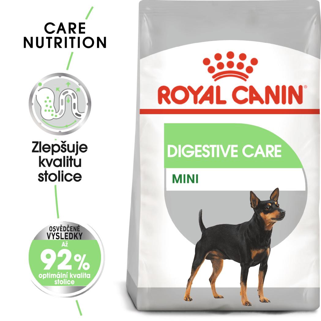 Royal Canin Mini Digestive Care - granule pro malé psy s citlivým trávením - 8kg