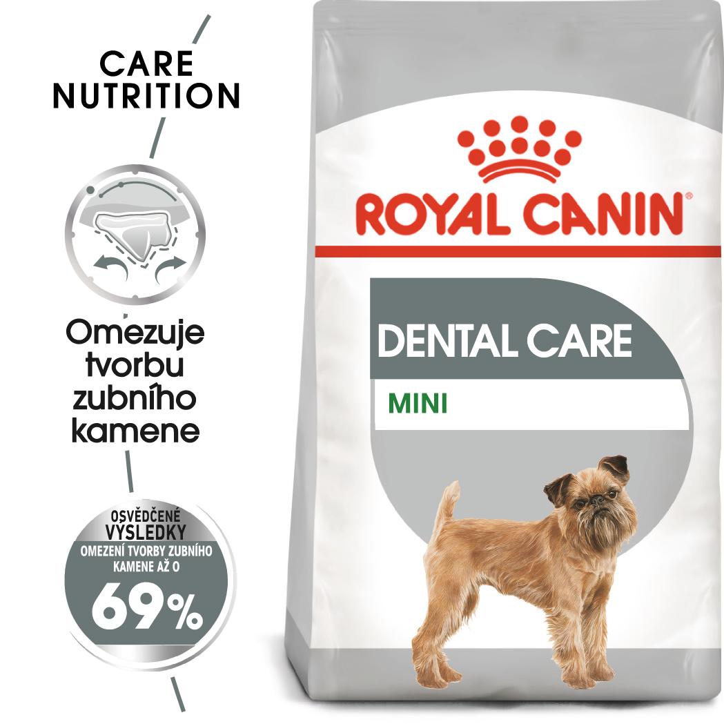 Royal Canin Mini Dental Care - granule pro psy snižující tvorbu zubního kamene - 8kg