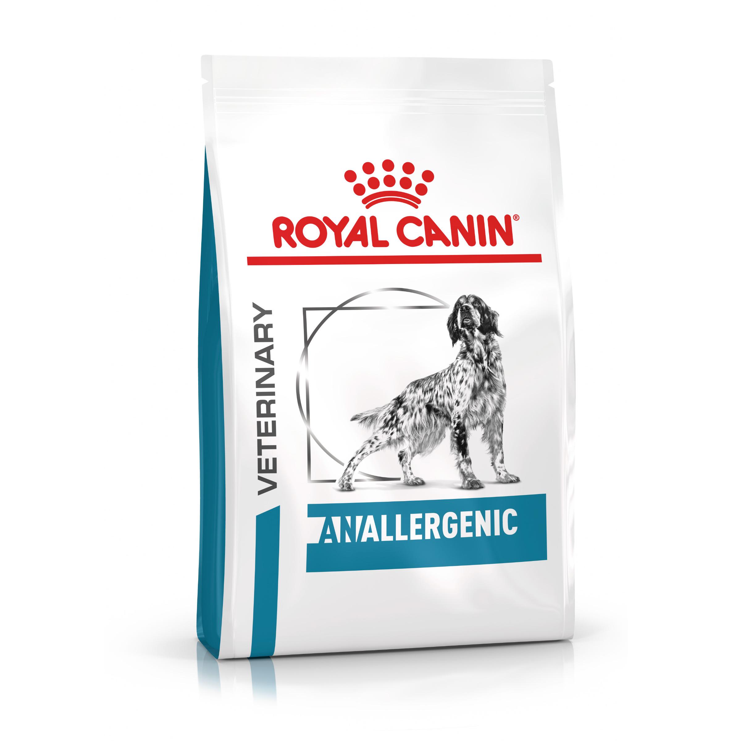 Royal Canin Veterinary Health Nutrition Dog ANALLERGENIC - 3kg