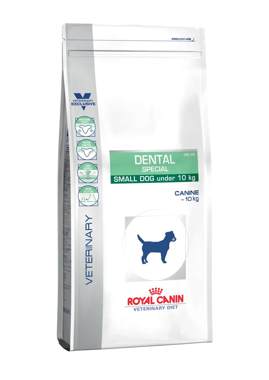 Royal Canin Veterinary Diet Dog DENTAL Small - 3,5kg