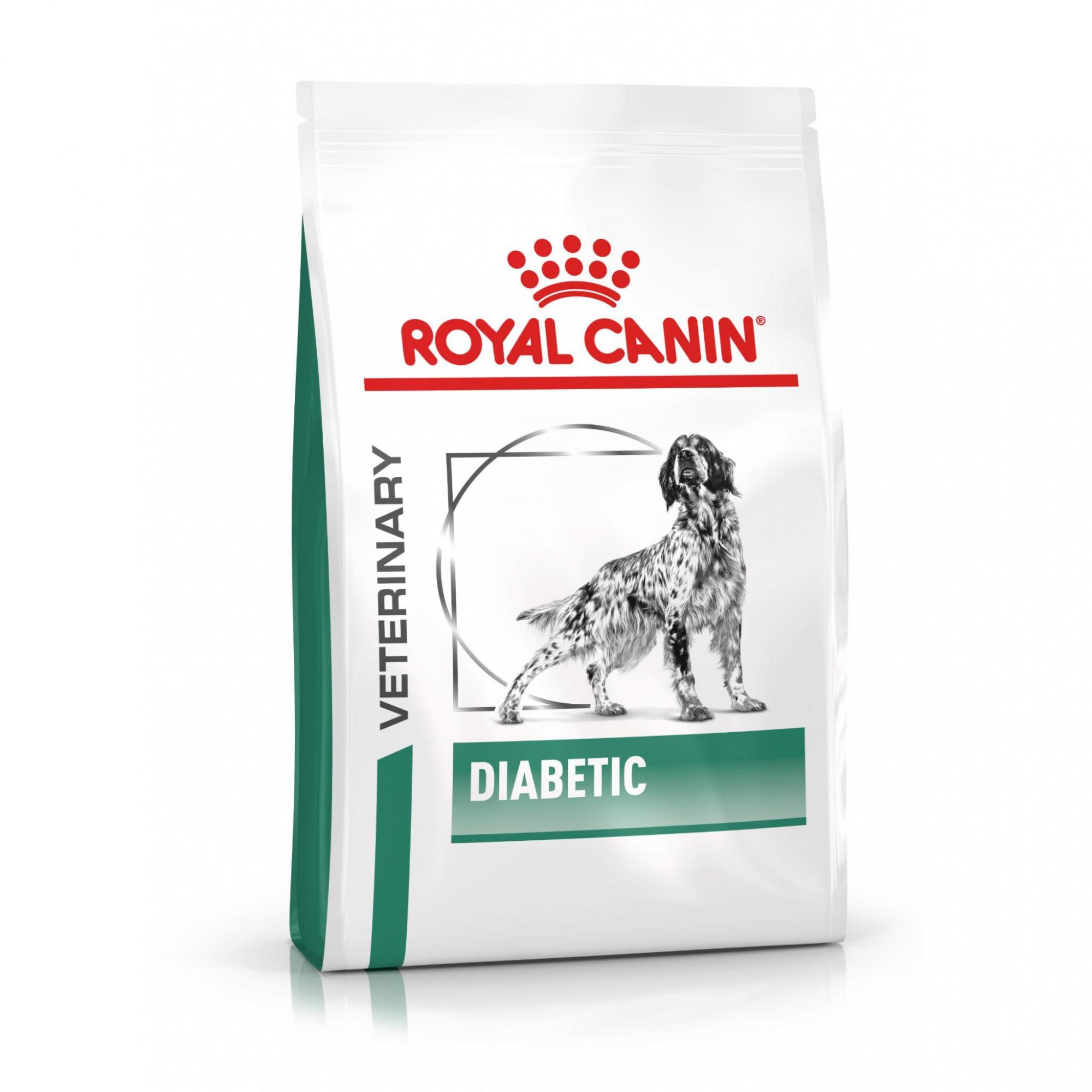 Royal Canin Veterinary Health Nutrition Dog DIABETIC - 1,5kg