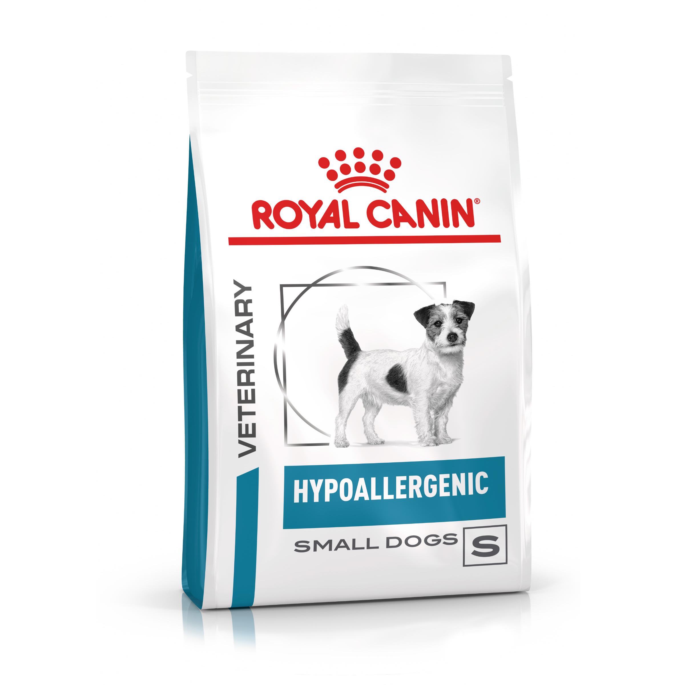 Royal Canin Veterinary Health Nutrition HYPOALLERGENIC Small - 3,5kg