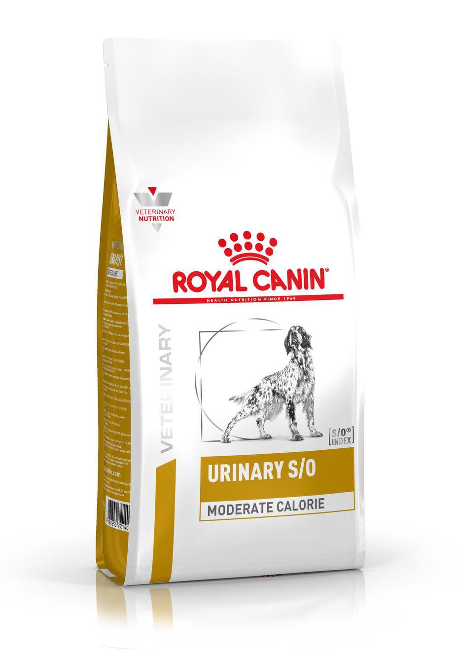 Royal Canin Veterinary Health Nutrition Dog URINARY S/O MC - 1,5kg