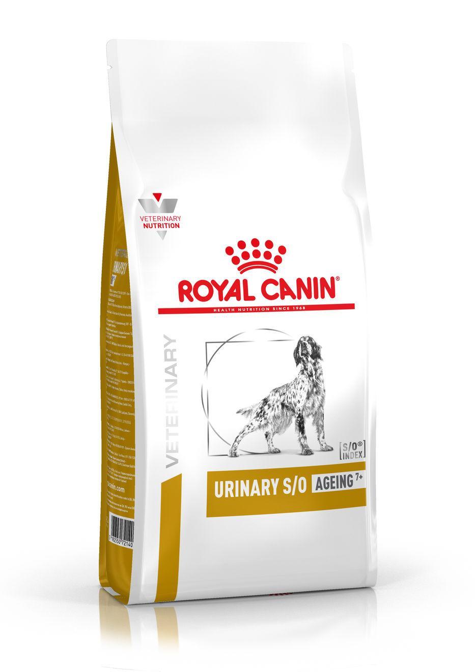 Royal Canin Veterinary Health Nutrition Dog URINARY S/O Ageing 7+ - 3,5kg