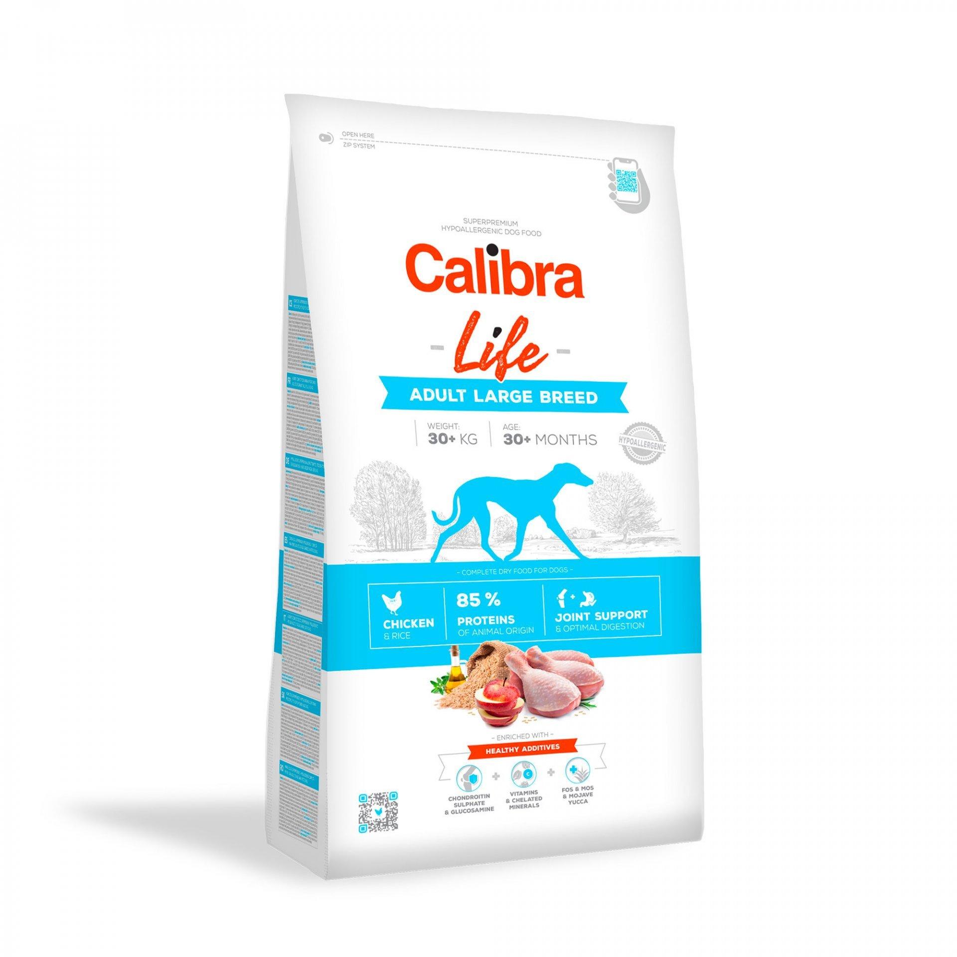 CALIBRA dog LIFE ADULT large CHICKEN 12kg