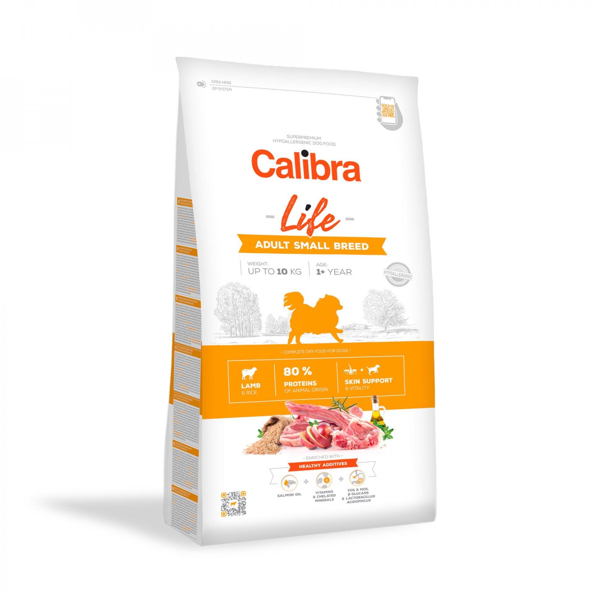 CALIBRA dog LIFE ADULT small LAMB 6kg