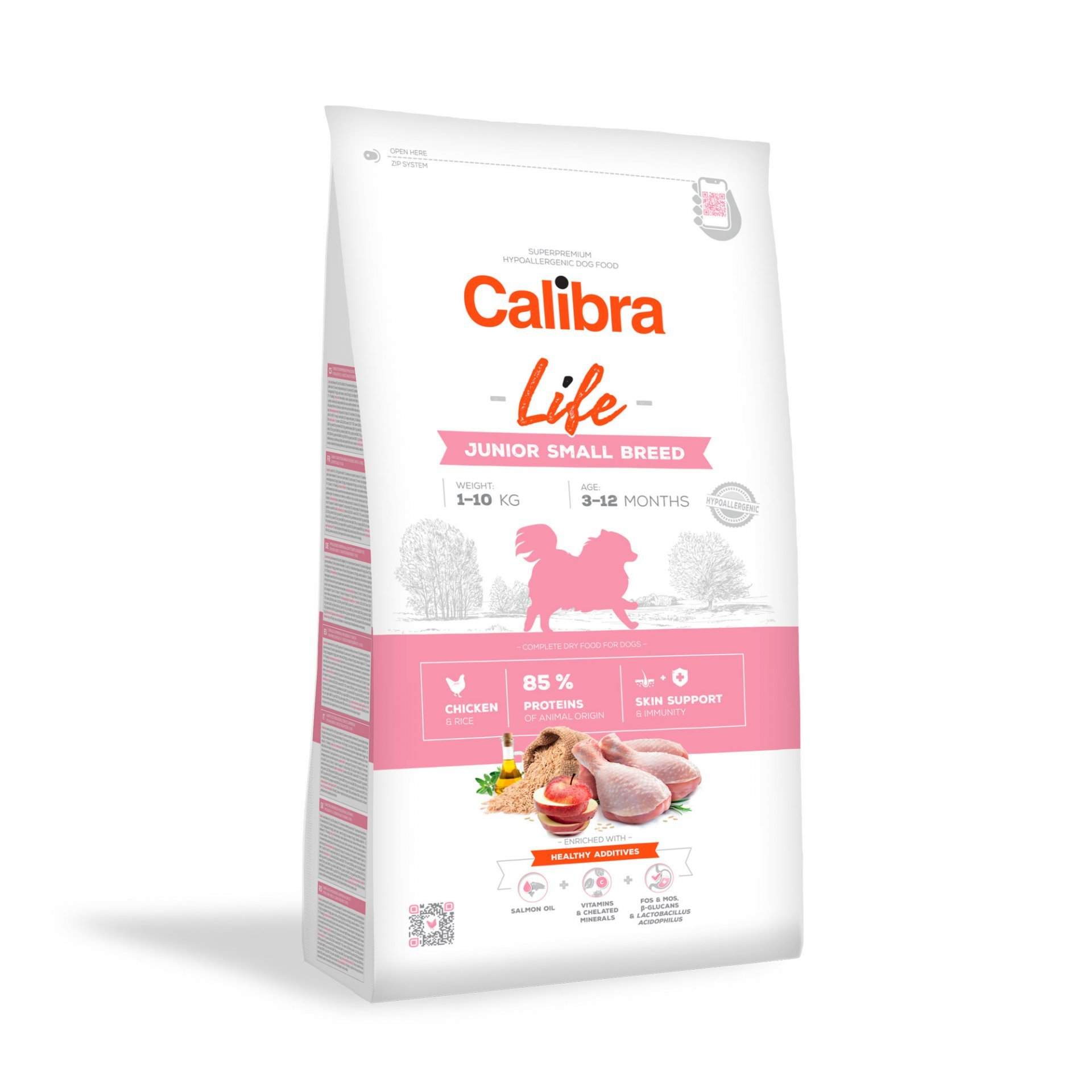 CALIBRA dog LIFE JUNIOR small CHICKEN 6kg