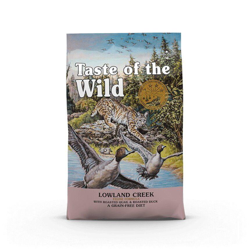 TASTE WILD cat LOWLAND creek 6,6kg