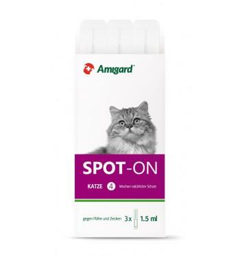 Amigard Spot-on Katze 3x1,5 ml - 3x1,5 ml
