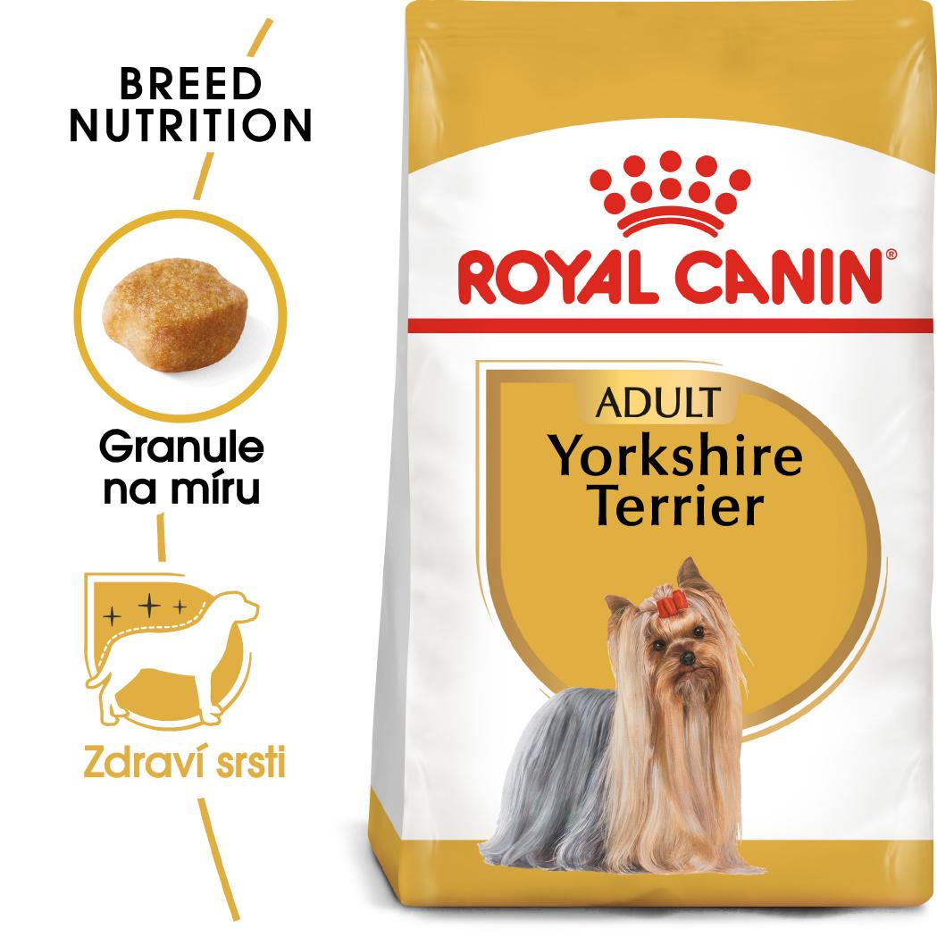 Royal Canin Yorkshire Adult - granule pro dospělého jorkšíra - 3kg prodejna