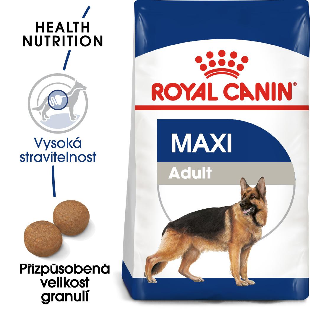 Royal Canin Maxi Adult - granule pro dospělé velké psy 15kg