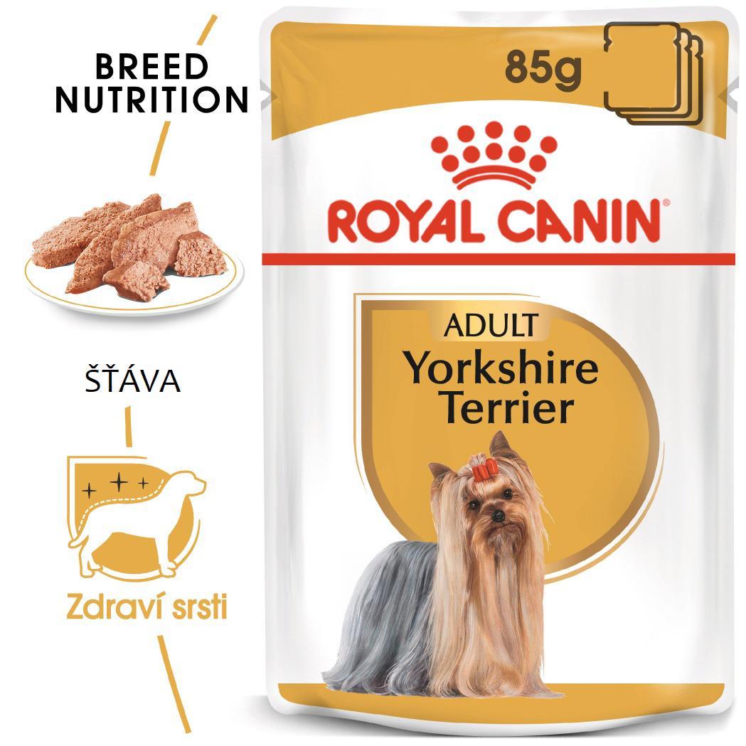 Royal Canin Yorkshire Loaf - kapsička s paštikou pro jorkšíra 85g
