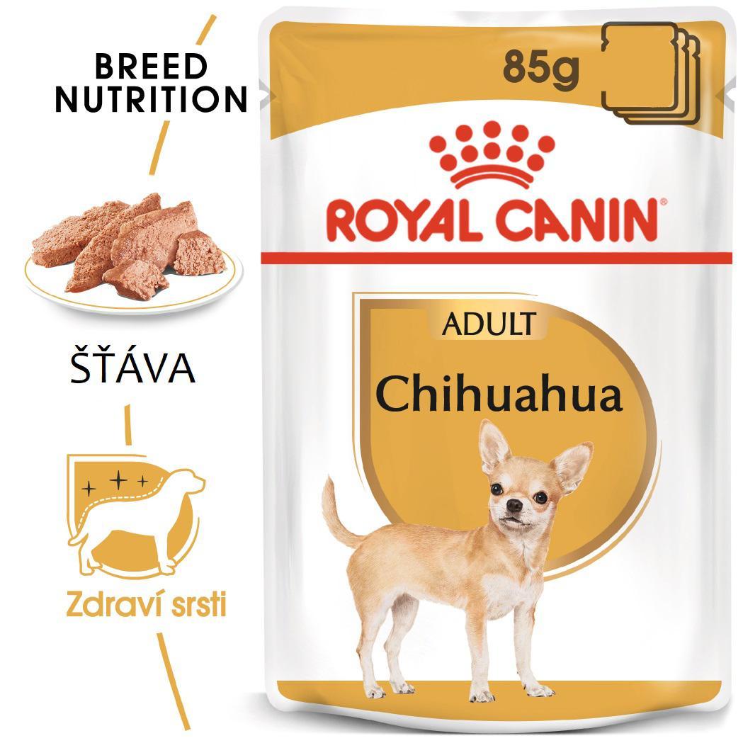 Royal Canin Chihuahua Loaf - kapsička s paštikou pro čivavu  85g