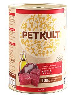 PETKULT dog konz. ADULT 800g/CHICKEN