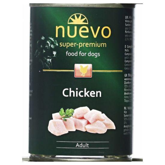 Nuevo dog konzerva adult kuřecí 800g