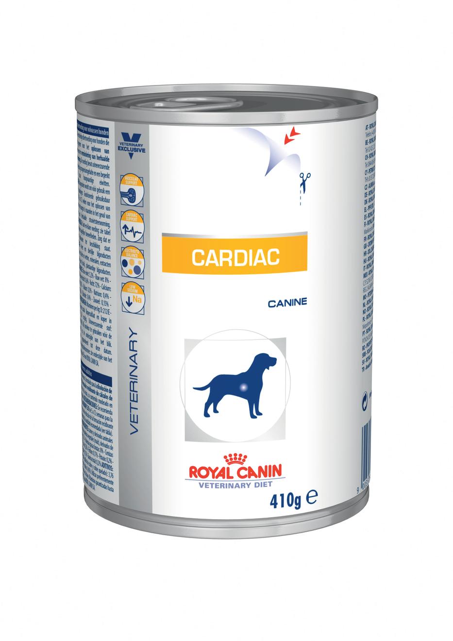 Royal Canin Veterinary Diet Dog CARDIAC konzerva 410g