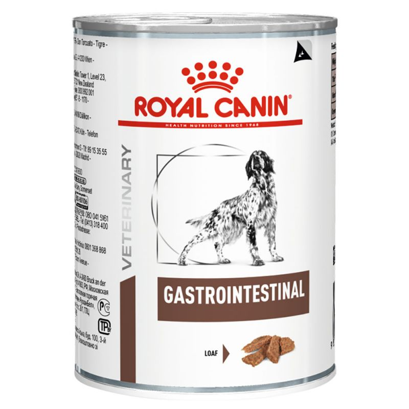 Royal Canin Veterinary Diet Dog GASTROINTESTINAL konzerva 400g