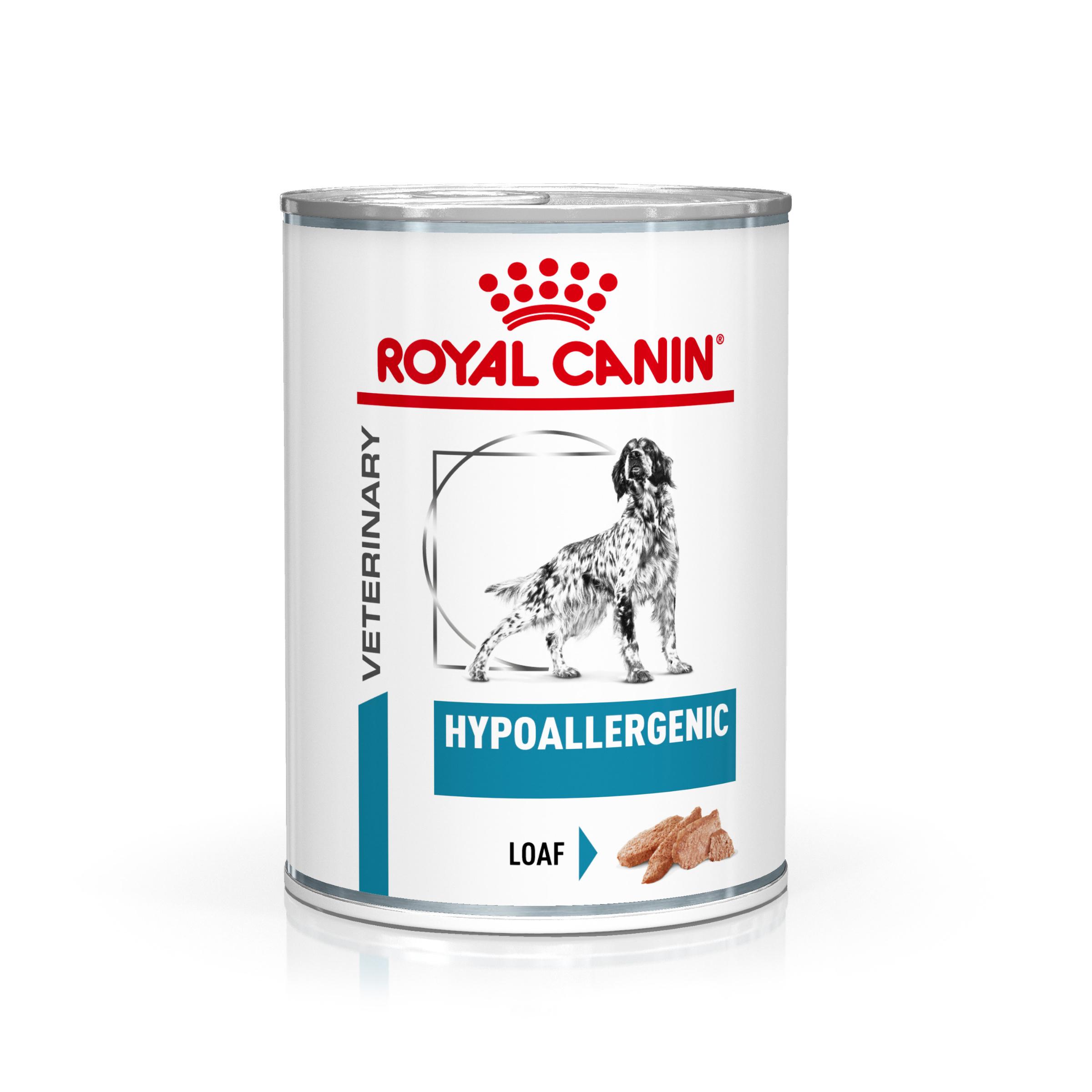 Royal Canin Veterinary Health Nutrition Dog HYPOALLERGEN konzerva 400g