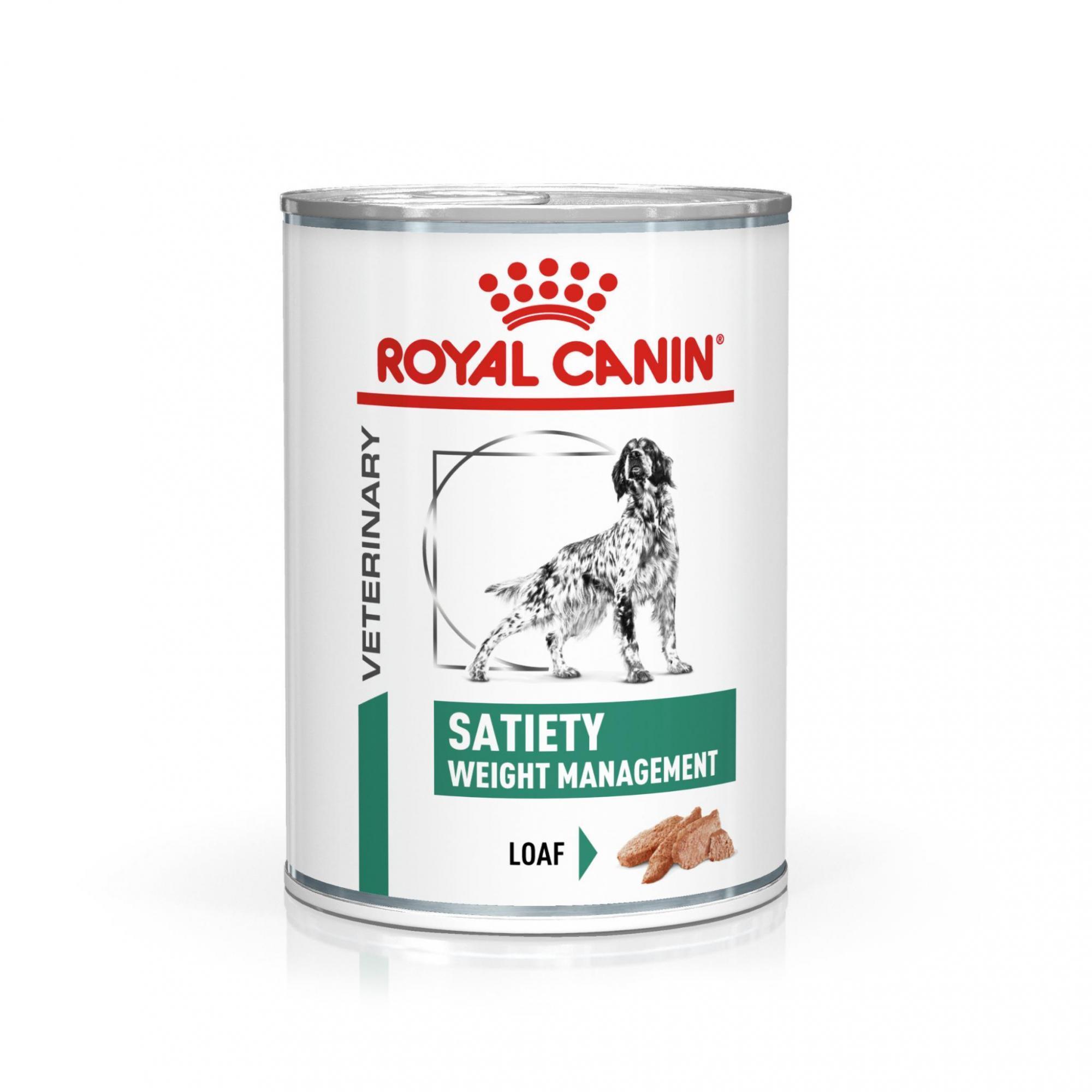 Royal Canin Veterinary Health Nutrition Dog SATIETY konzerva 410g