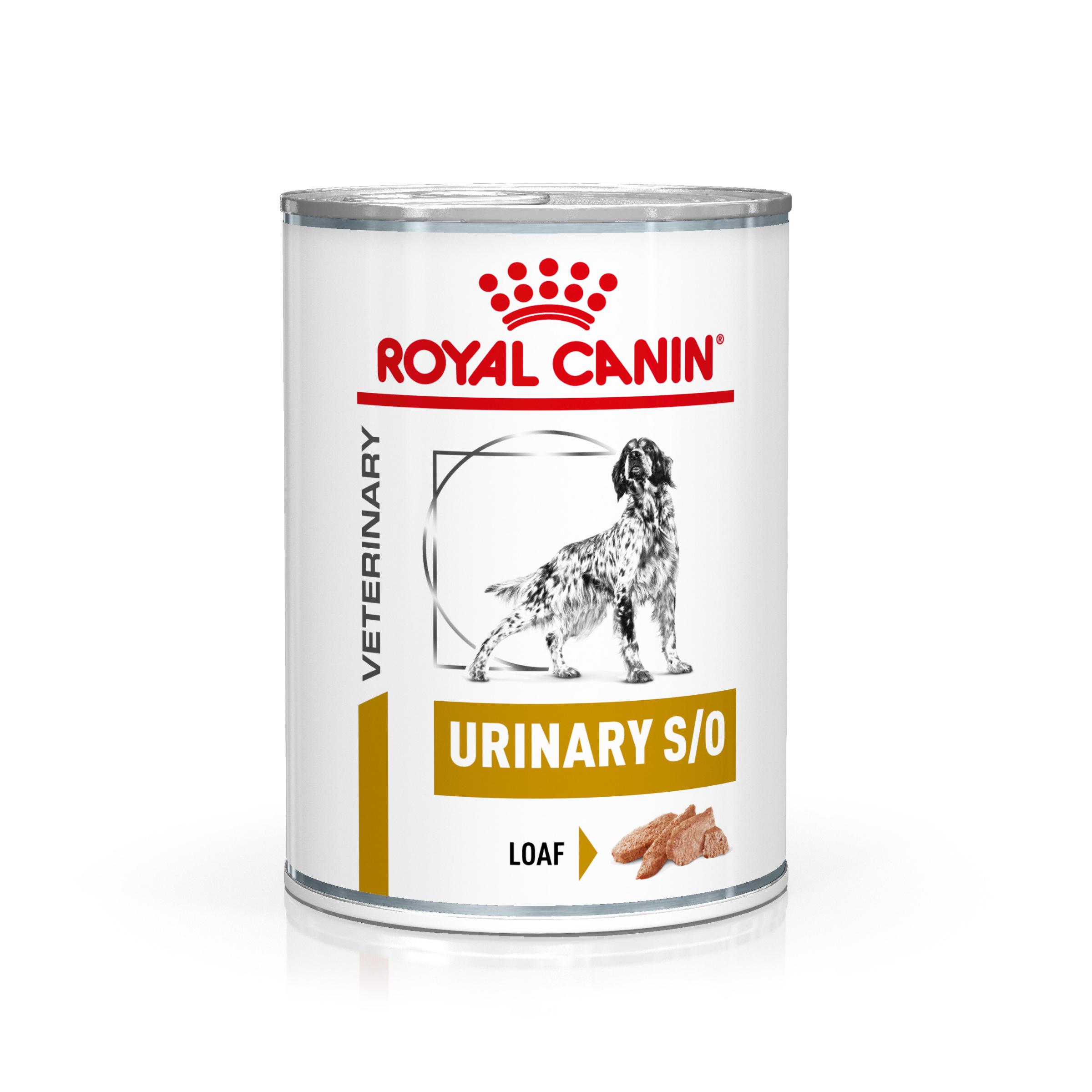 Royal Canin Veterinary Health Nutrition Dog URINARY S/O konzerva 410g
