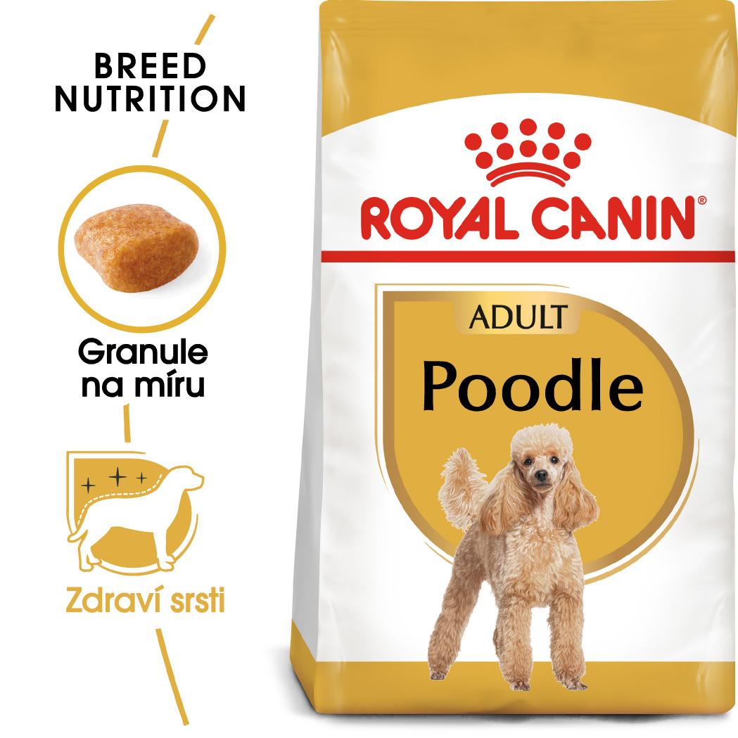 Royal Canin Poodle Adult - granule pro dospělého pudla 7,5kg