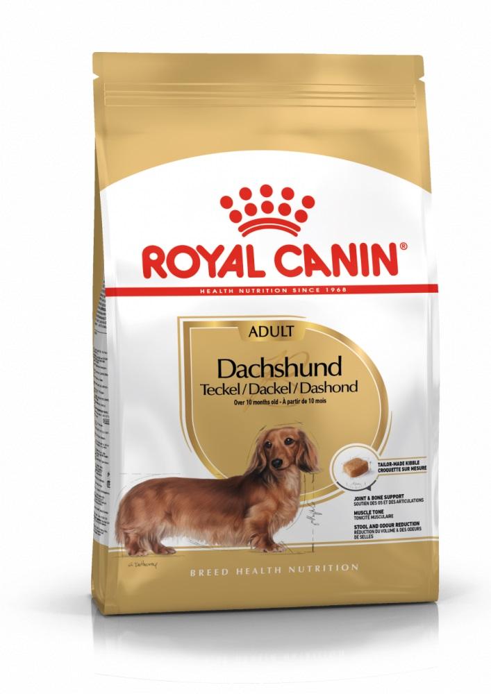 Royal Canin Dachshund Adult - granule pro dospělého jezevčíka 7,5kg