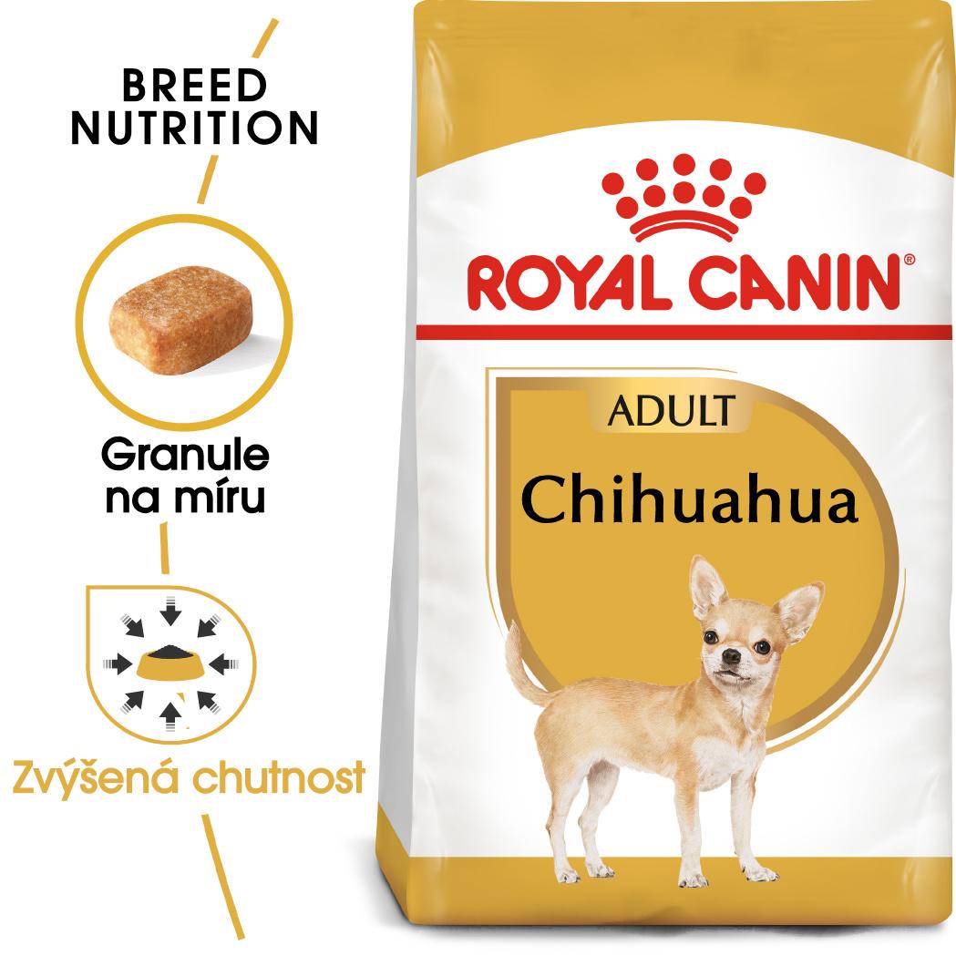 Royal canin chihuahua adult - granule pro dospělou čivavu 3kg