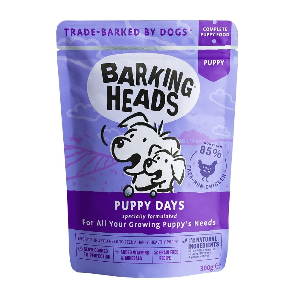 Barking heads  kapsa  puppy days 300g prodejna