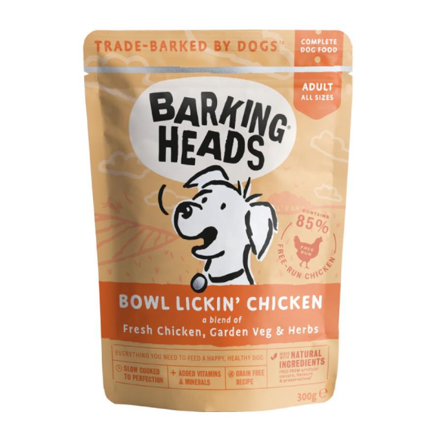 Barking heads  kapsa bowl lickin chicken 300g