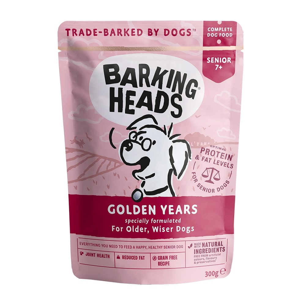 Barking heads  kapsa golden years 300g