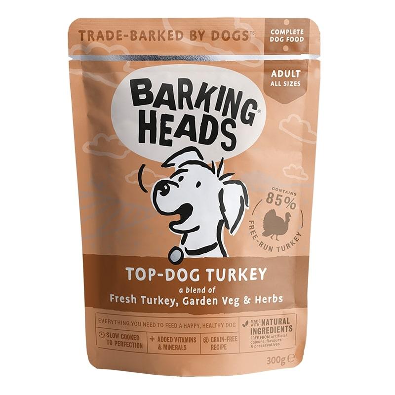 Barking heads kapsa top dog turkey 300g