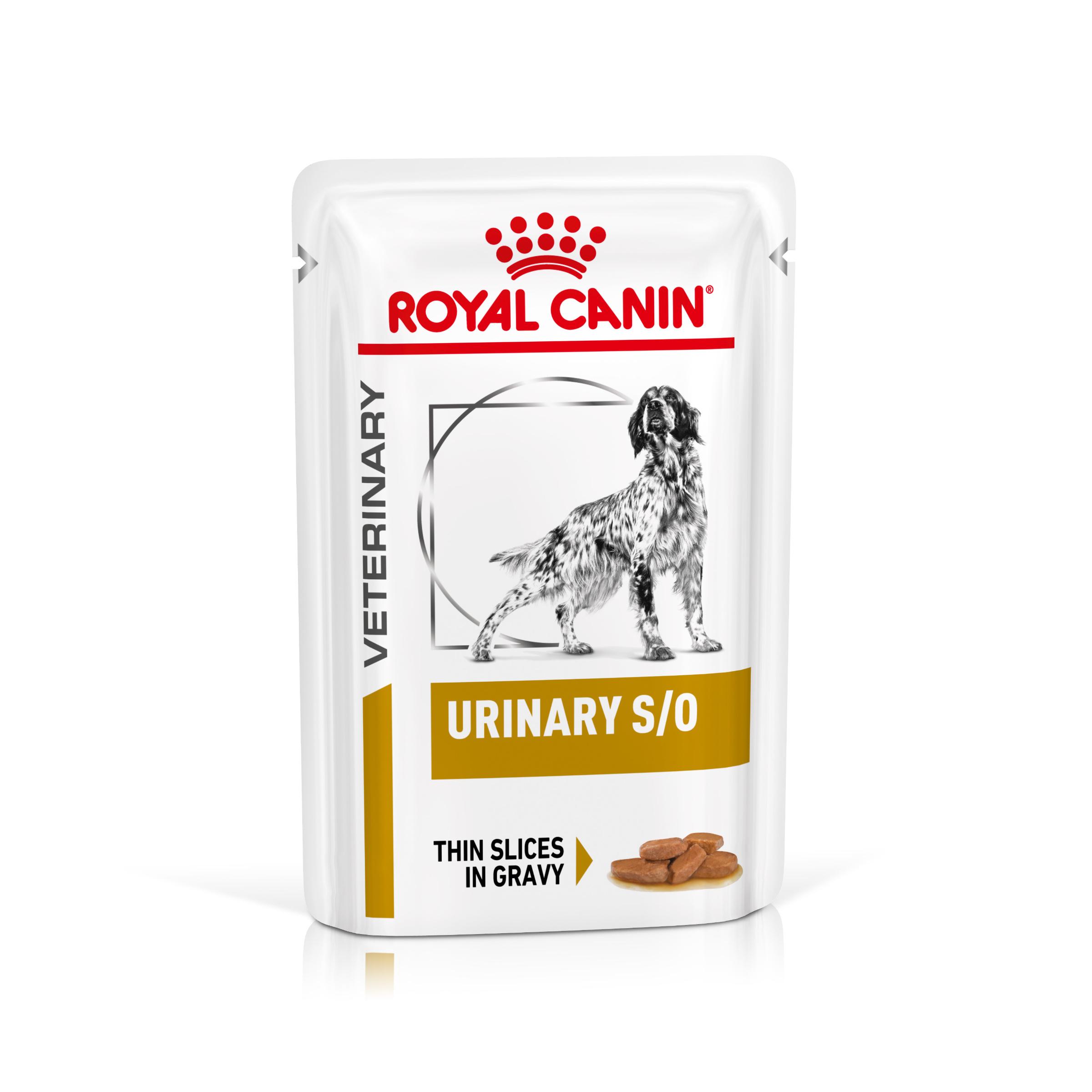 Royal canin veterinary health nutrition dog urinary s/o pouch in gravy kapsa 100g