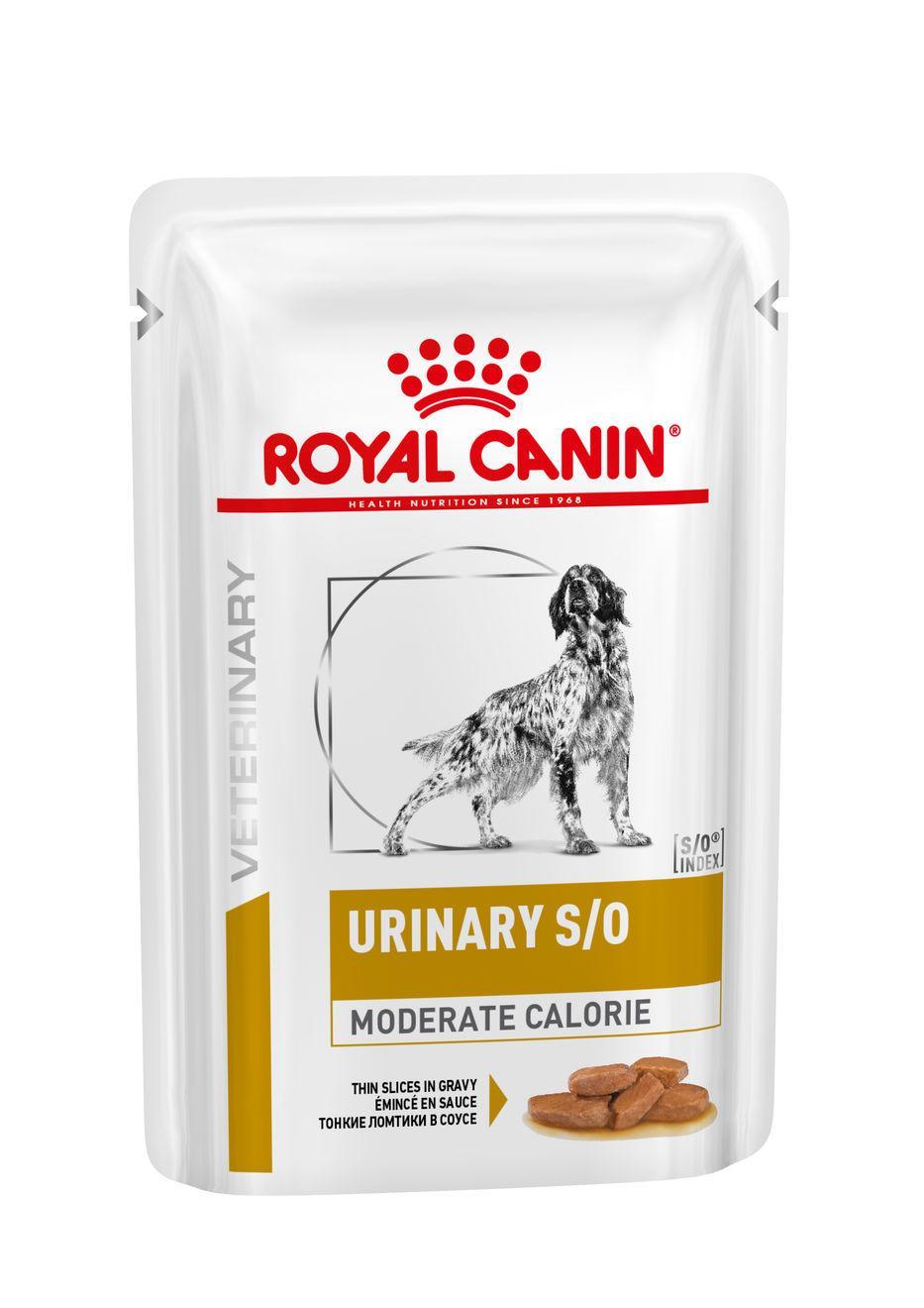 Royal canin veterinary health nutrition dog urinary s/o mc pouch kapsa 100g