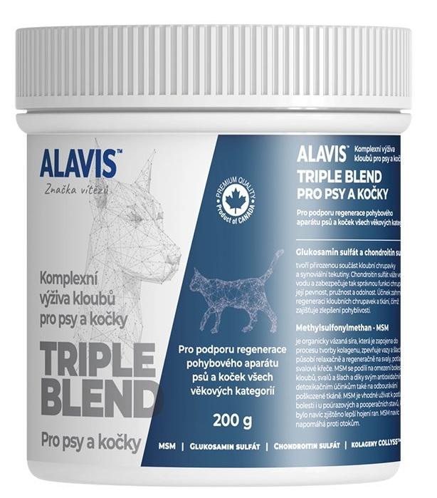 Alavis triple blend pro psy/kočky 200g