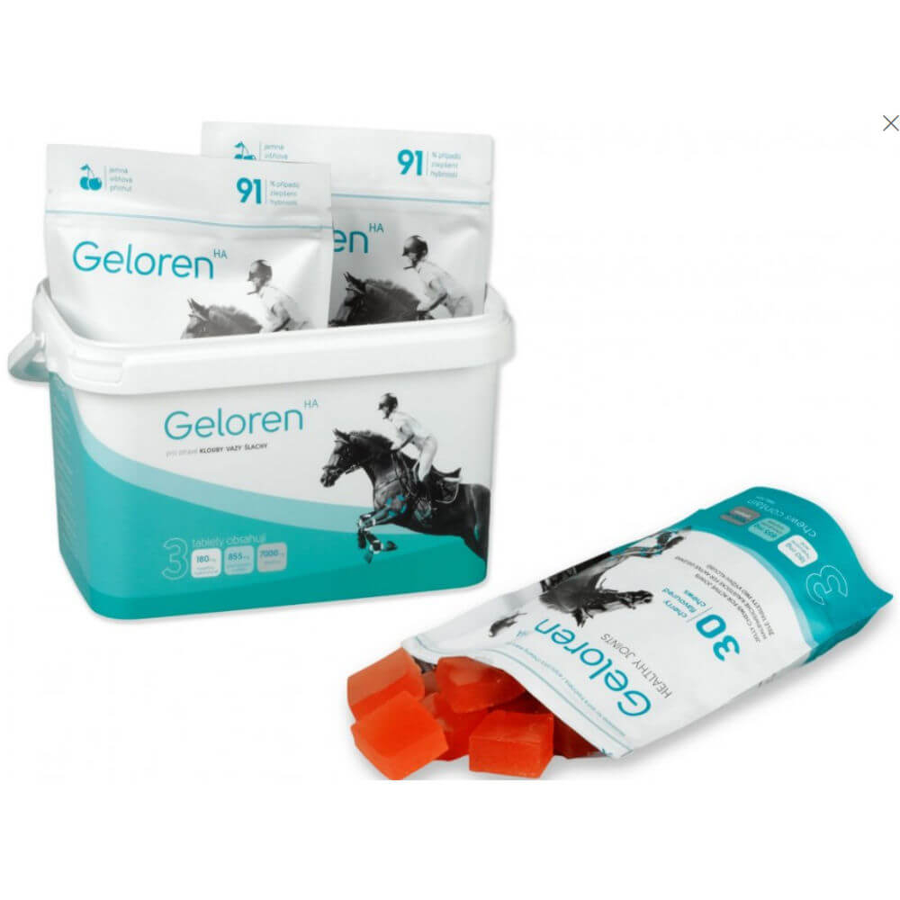 GELOREN HA gelové tablety 1350g - višňové