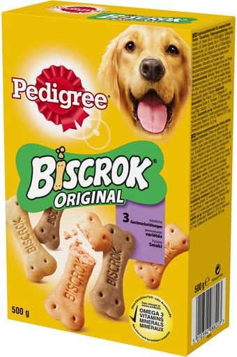 Pedigree kostičky biscrok MULTI MIX 500g