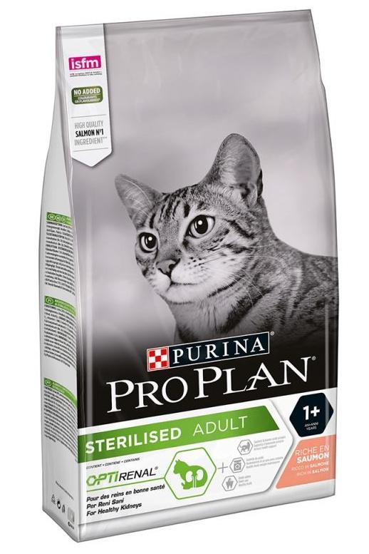 Pro plan cat  sterilised salmon 10kg