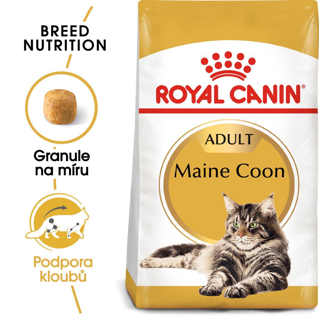 Royal canin maine coon adult - granule pro mainské mývalí kočky 10kg