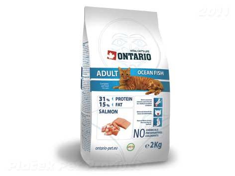 ONTARIO cat  ADULT ocean/fish - 10 kg