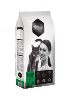 Amity premium cat  chicken/rice 10kg PRODEJNA
